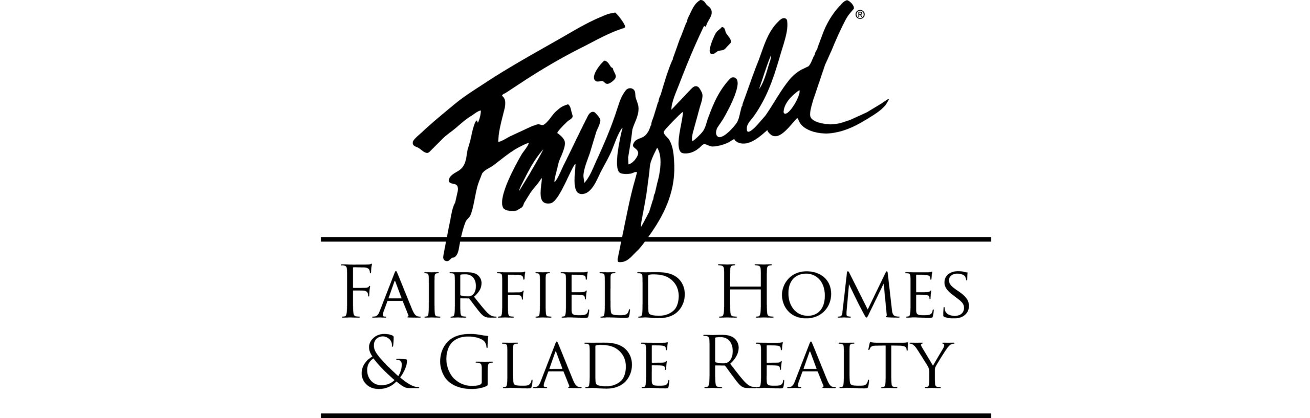 Fairfield Homes & Glade Realty 2 lines